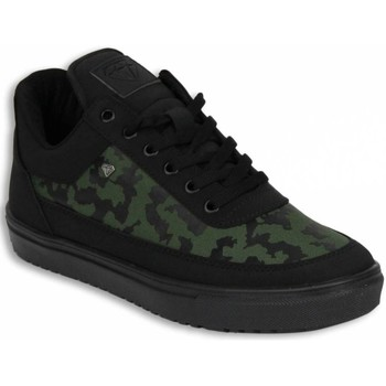 Schoenen Heren Lage sneakers Cash Money Schoenen - Sneaker Low Camouflage Side - Zwart