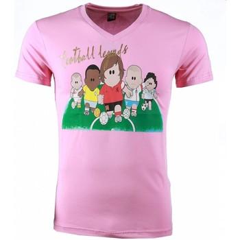 Textiel Heren T-shirts korte mouwen Mascherano T-shirt - Football Legends Print 13