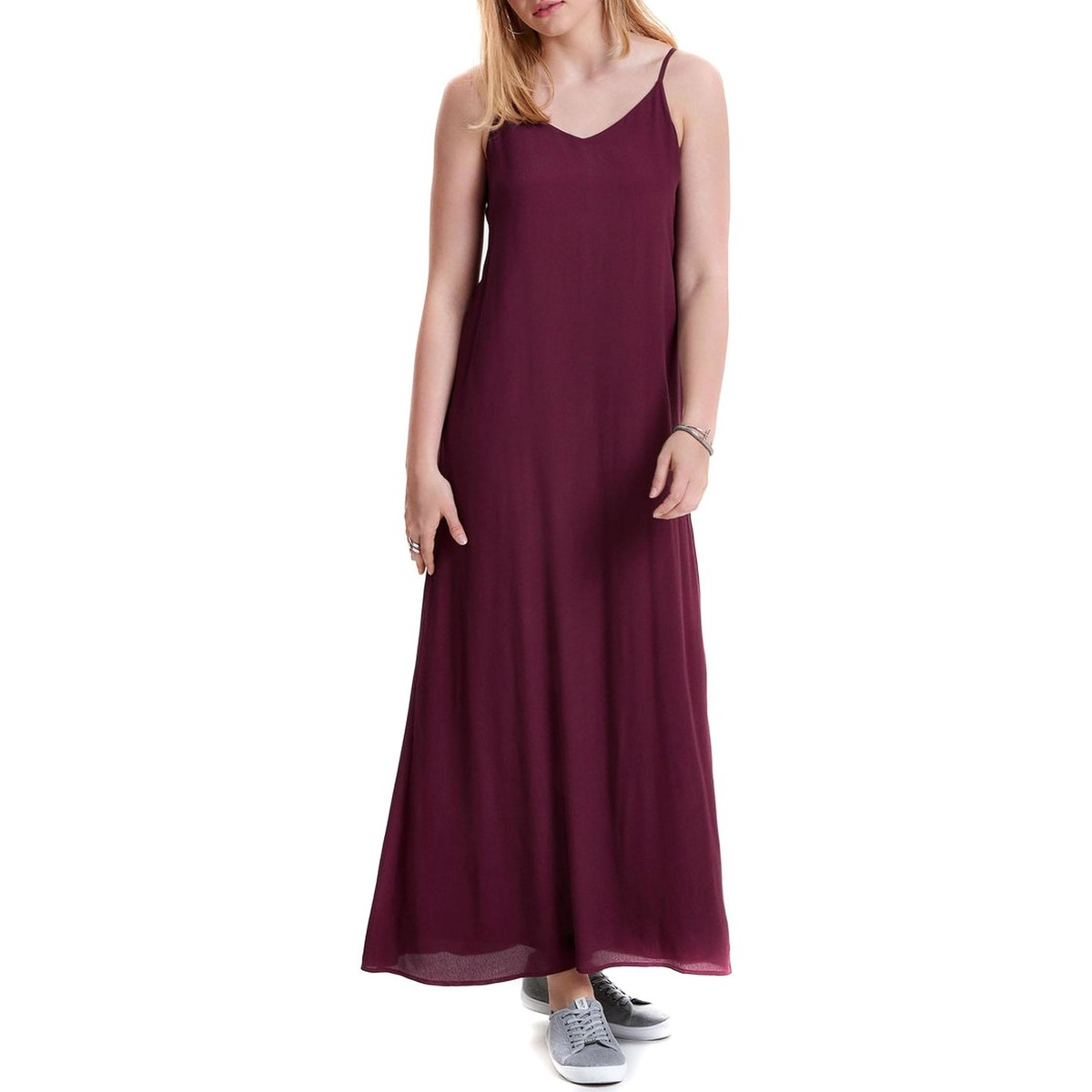 ONLY jurk jessa maxidress rood