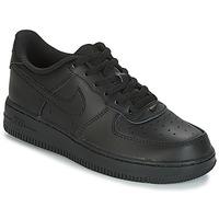 Schoenen Kinderen Lage sneakers Nike AIR FORCE 1 CADET Zwart