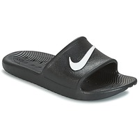 Schoenen slippers Nike KAWA SHOWER SLIDE Zwart / Wit