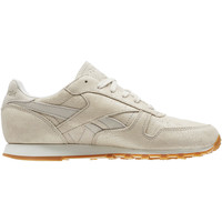 Schoenen Dames Lage sneakers Reebok Classic Classic Leather Clean Exotics Beige / Wit / Gebroken Wit