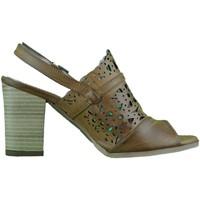 Schoenen Dames Sandalen / Open schoenen Inart...donna Sandali donna open toe fasciati cuoio made in Italy White