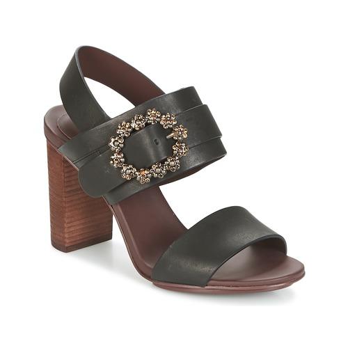 Schoenen Dames Sandalen / Open schoenen See by Chloé SB30123 Zwart