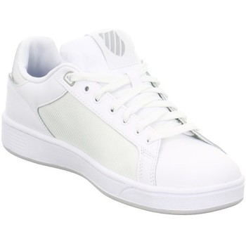 Schoenen Dames Lage sneakers K-Swiss Clean Court CMF Damen Low Sneaker Wit