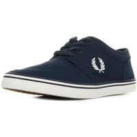 Schoenen Heren Lage sneakers Fred Perry Stratford Canvas Carbon Blue
