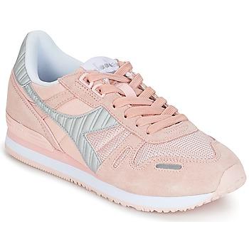 Schoenen Dames Lage sneakers Diadora TITAN II W Roze