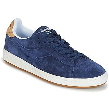 Schoenen Heren Lage sneakers Diadora GAME LOW SUEDE Blauw