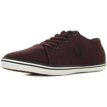 Schoenen Heren Lage sneakers Fred Perry Kingston Twill Mahogany