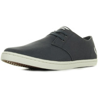 Schoenen Heren Lage sneakers Fred Perry Byron Low Twill Charcoal