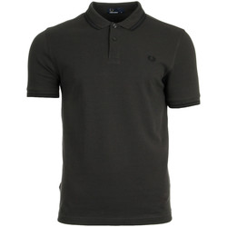 Textiel Heren Polo's korte mouwen Fred Perry Twin Tipped Shirt Liquorice Black