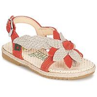 Schoenen Meisjes Sandalen / Open schoenen El Naturalista SAMOA OranJe / Ecru