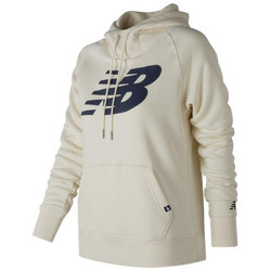 Textiel Heren Sweaters / Sweatshirts New Balance Essentials Full Zip Hoodie Wit