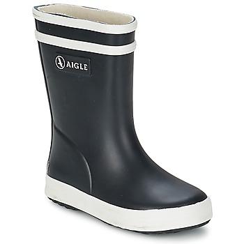 Schoenen Kinderen Regenlaarzen Aigle BABY FLAC Zwart