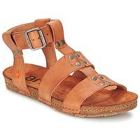 Schoenen Dames Sandalen / Open schoenen Art CRETA SPARA Camel
