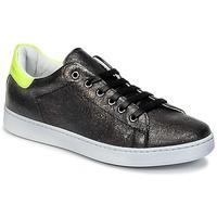 Schoenen Kinderen Lage sneakers Young Elegant People EDENI Zwart / Geel / Fluo