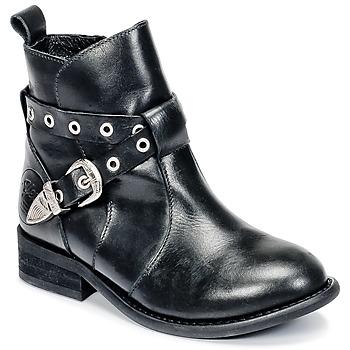 Schoenen Meisjes Laarzen Young Elegant People CALYPSOM Zwart