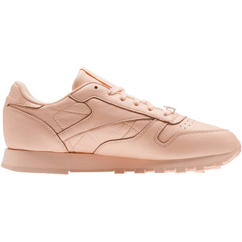 Schoenen Dames Lage sneakers Reebok Classic Classic Leather L Orange