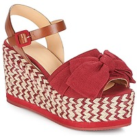 Schoenen Dames Sandalen / Open schoenen Castaner EUCALIPTO Framboos