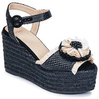 Schoenen Dames Sandalen / Open schoenen Castaner EFEDRA Zwart