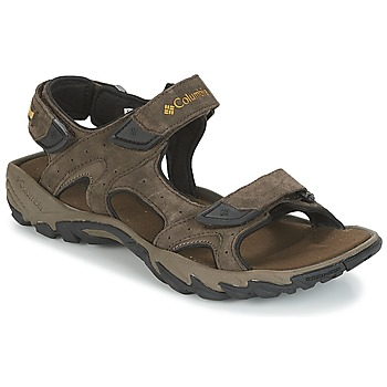 Schoenen Heren Outdoorsandalen Columbia SANTIAM™ 3 STRAP Bruin