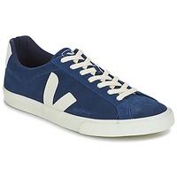 Schoenen Heren Lage sneakers Veja ESPLAR LOW LOGO Blauw