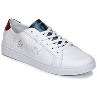 Schoenen Dames Lage sneakers Tommy Hilfiger VENUS 22 Wit / Blauw / Rood