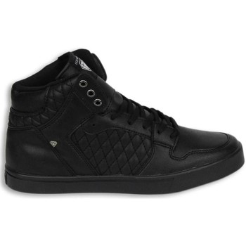 Schoenen Heren Hoge sneakers Cash Money Schoenen - Sneaker High - Jailor Full Black Pu Zwart