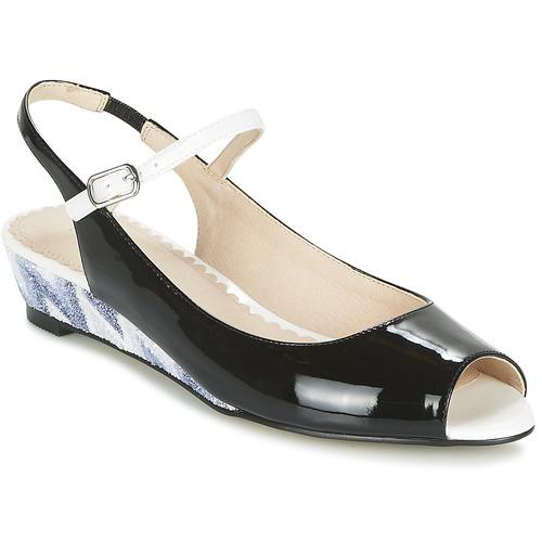 Schoenen Dames Sandalen / Open schoenen Mellow Yellow DALY Zwart