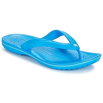 Schoenen Teenslippers Crocs CROCBAND FLIP Blauw