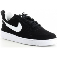 Schoenen Heren Lage sneakers Nike COURT BOROUGH LOW 838937 Noir
