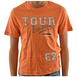 Textiel Kinderen T-shirts korte mouwen Diadora  Oranje