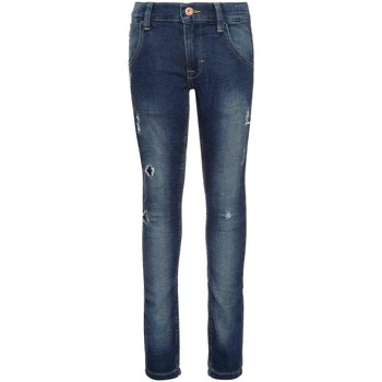 Textiel Jongens Straight jeans Name It Kids NITTHORSEN SLIM/XSL DNM PANT Azul