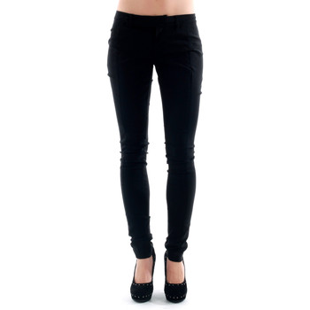 Textiel Dames Chino's Amy Gee AMY04309 Negro