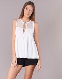 Textiel Dames Tops / Blousjes Volcom SEA Y'AROUND TOP Wit