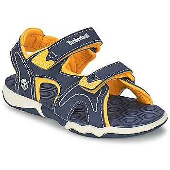 Schoenen Kinderen Outdoorsandalen Timberland ADVENTURE SEEKER 2-STRAP SANDAL Blauw / Geel
