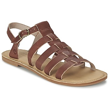Schoenen Dames Sandalen / Open schoenen Timberland EARTHKEEPERS® SHEAFE FISHERMAN Bruin / Clair