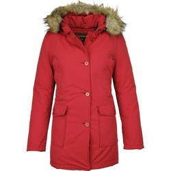 Textiel Dames Parka jassen Beluomo NepBontjassen - Dames Winterjas Wooly Lang - NepBontkraag - Park 8