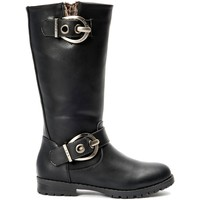 Schoenen Dames Hoge laarzen La Vitrine De La Mode Les P'tites Bombes  Botte 4-Gaelle Noir Zwart