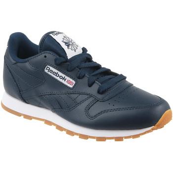 Schoenen Kinderen Lage sneakers Reebok Sport Classic Leather Bleu marine