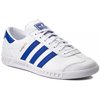 Schoenen Heren Lage sneakers adidas Originals HAMBURG BY9758 BLANCO