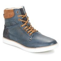 Schoenen Jongens Hoge sneakers Bullboxer  Blauw / Camel