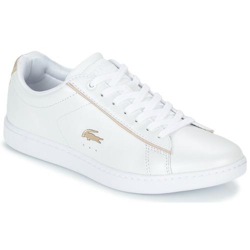 Schoenen Dames Lage sneakers Lacoste CARNABY EVO 118 6 Wit