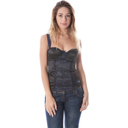 Textiel Dames Mouwloze tops Datch I9U7917 BLACK 402