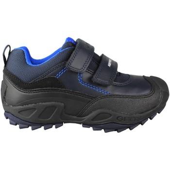Schoenen Kinderen Lage sneakers Geox JN SAVAGE DOBLE AZUL