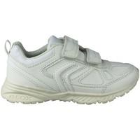 Schoenen Kinderen Lage sneakers Geox BERNIE G DEPORTIVA BLANCO