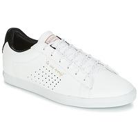 Schoenen Dames Lage sneakers Le Coq Sportif AGATE LO S LEA/SATIN Wit