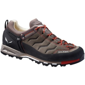 Schoenen Heren Lage sneakers Salewa MS Mtn Trainer Leather Zwart-Brons-Rood