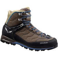 Schoenen Heren Wandelschoenen Salewa Mtn Trainer Mid Leather Grafieten-Brons