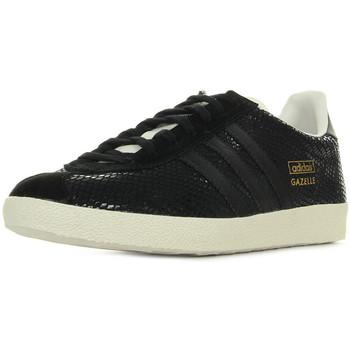 Schoenen Dames Lage sneakers adidas Originals Gazelle Og Zwart